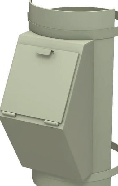 Клапан мусоропровода Бадан-450