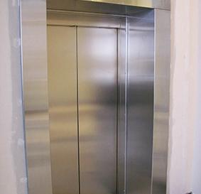 Обрамление входа в лифт